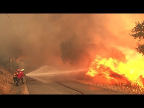 Portuguese firefighters gain upper hand against wildfires