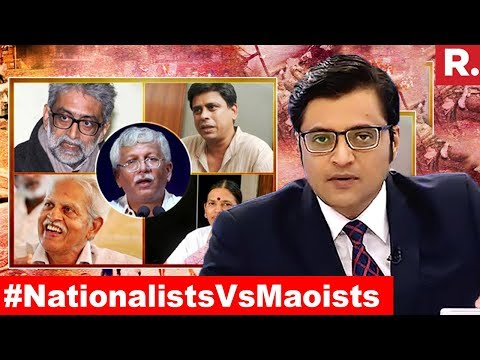 Will India Unite To Fight Maoists? | The Debate With Arnab Goswami