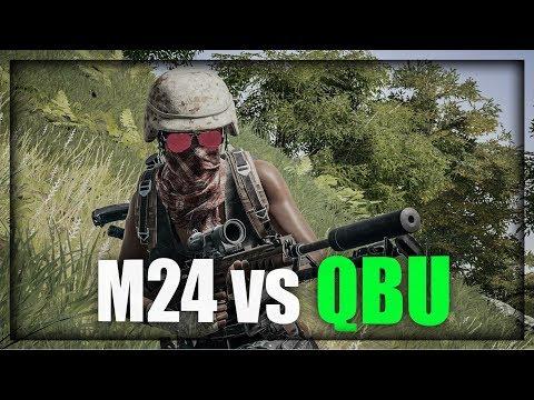 M24 VS NOVA PUSKA ! Playerunknown's Battlegrounds