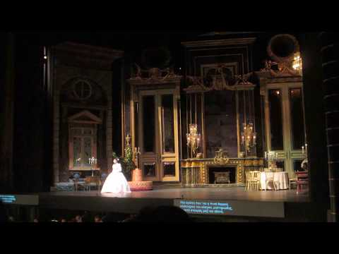 La Traviata, Greek National Opera @ Megaron, Athens, GR, Nov. 30, 2016. Act I, È strano!