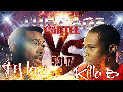 TY LAW VS KILLA B // BLACK ICE CARTEL // THE CAGE