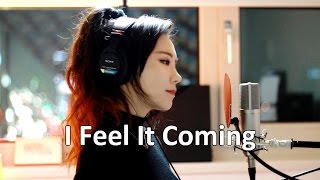 The Weeknd I Feel It Coming cover by J