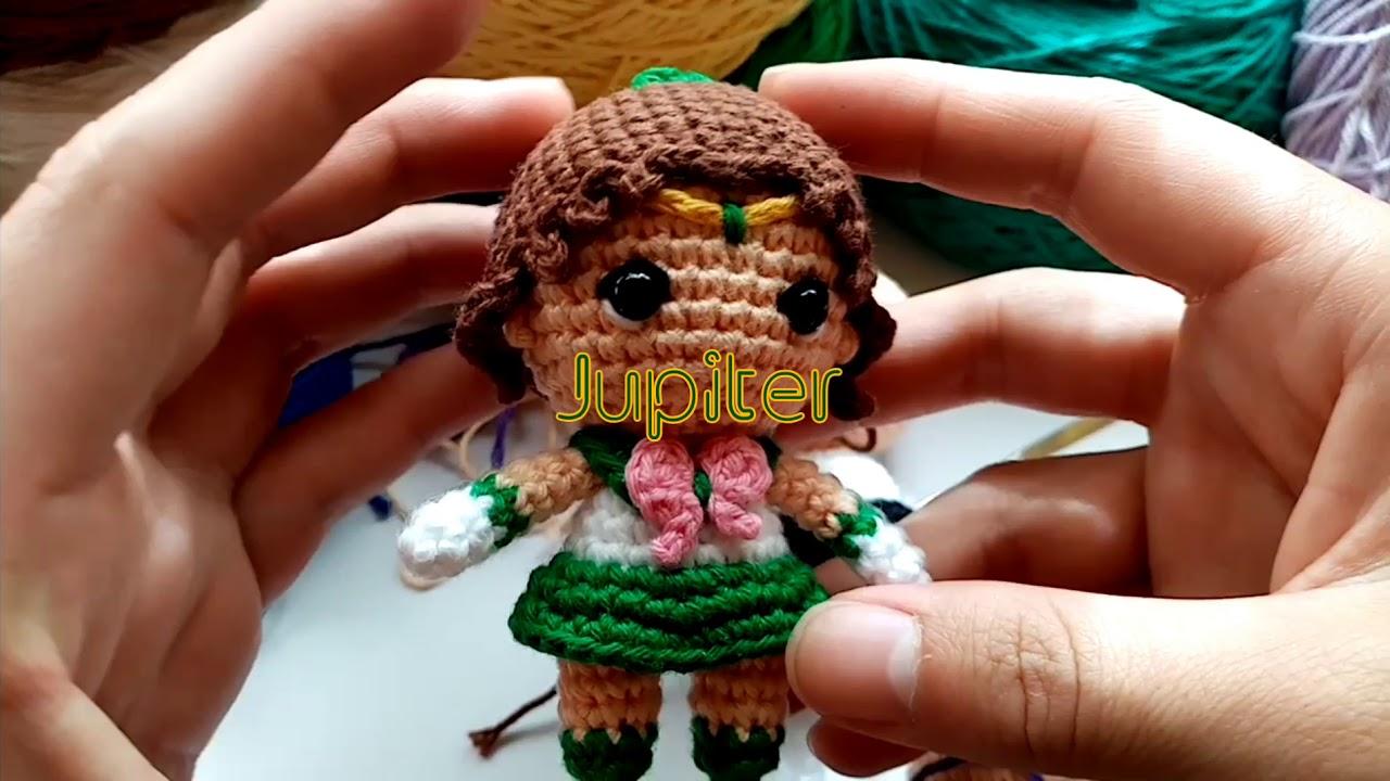 Hello Kitty tejida a crochet (amigurumi) Parte 2: cuerpo - YouTube | 720x1280