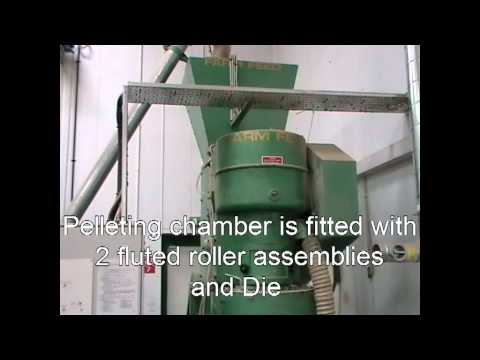 Animal feed Pellet Mill.avi