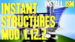 INSTANT STRUCTURES MOD 1.12.2 - watch how to install This is a tuto...