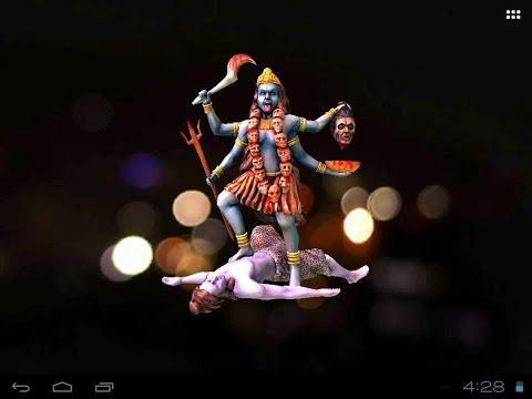3d Maa Kali Live Wallpaper Apps On Google Play