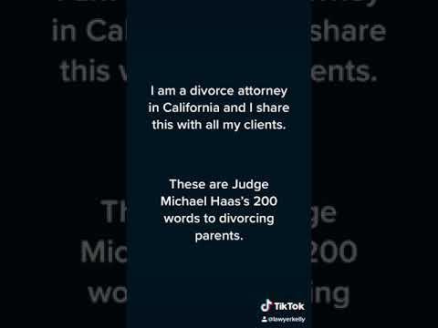 200 words for Divorcing Parents
