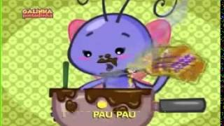 Borboletinha DVD Galinha Pintadinha
