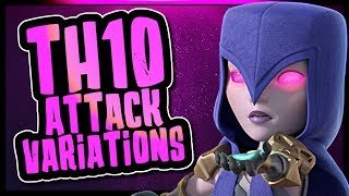 TOWN HALL 10 ATTACK VARIATION | THREE STAR WAR STRATEGIES | Clash of Clans