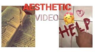 HOW TO MAKE AESTHETICS VIDEOS FOR TIKTOK!
