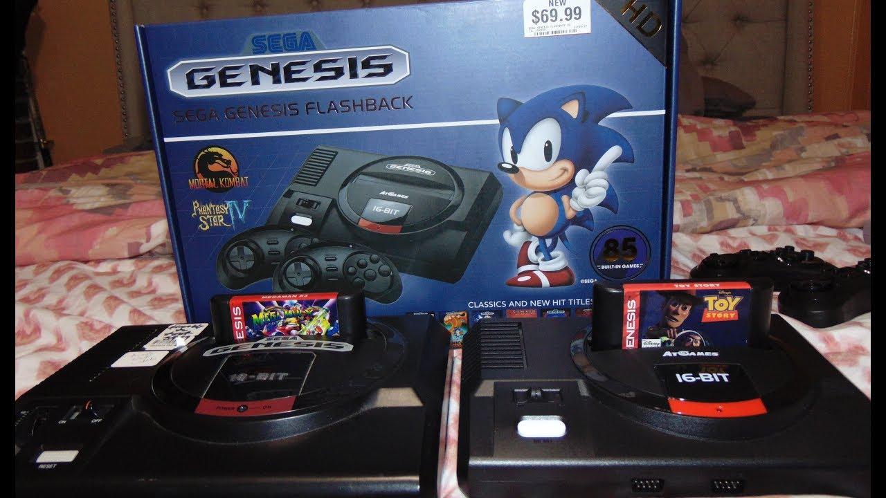 Unboxing y Probando Nueva Sega Genesis Flashback Mini HD Cual Trae 85  Juegos y Salida HDMI