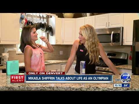 Mikaela Shiffrin talks about life as an Olympian