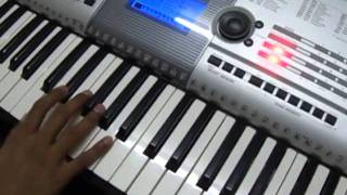 Play in Keyboard - Tamil - Ullaasam - Veesum Kaatrukku Song
