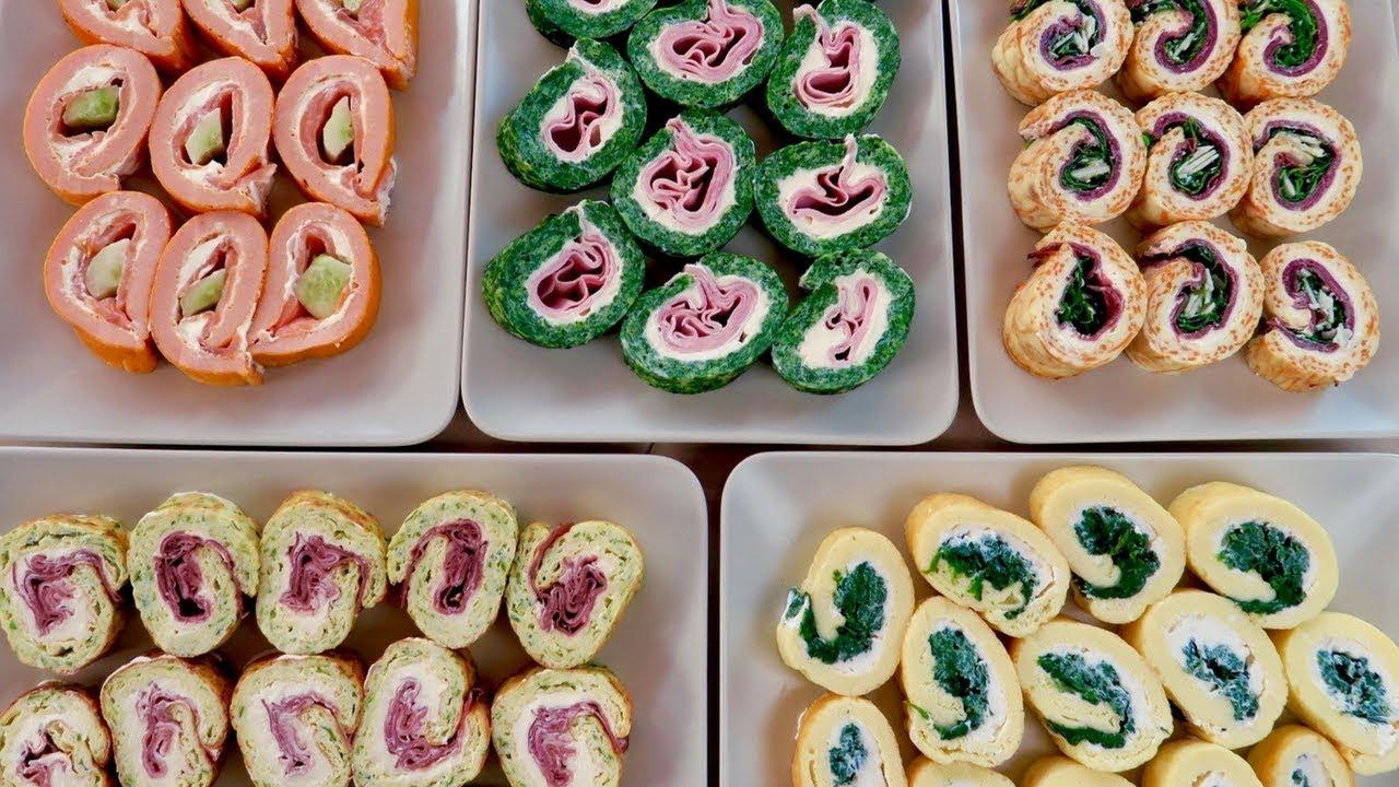 Finger Food Aperitivo Estivo rotolo frittata in mille modi ricetta facile - italian frittata rolls easy  recipe