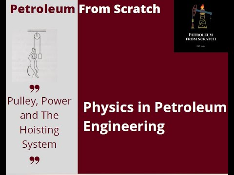 Pulley System in Petroleum Engineering part 1