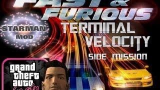 GTA Vice City Starman Mod - Terminal Velocity (Nissan Skyline GTR)