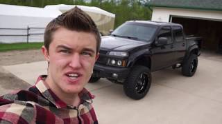 "6"" Lifted Chevy Colorado Walk Around"