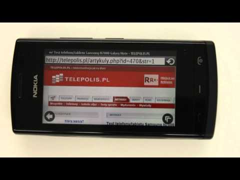 Nokia 500 - internet browser - part 2