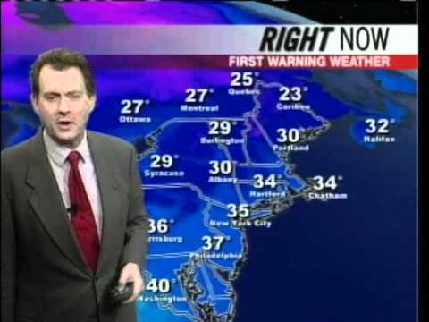 Chief Meteorologist Tom Chisholm's Forecast