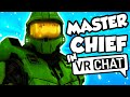 THE VOICE OF MASTER CHIEF PLAYS VRCHAT!!!