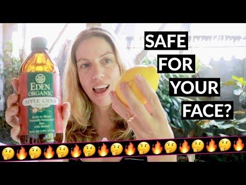 lemon-or-apple-cider-vinegar,-safe-to-use-on-your-face?