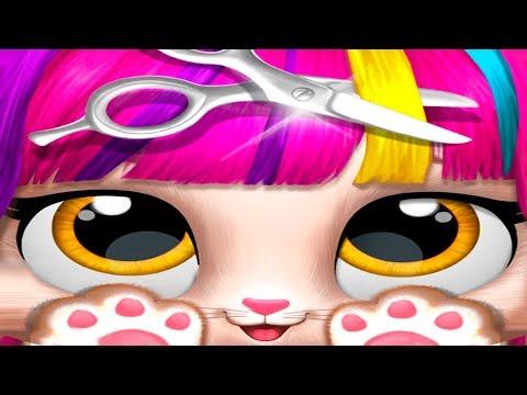 ПРИЧЕСКА для кошечки в салоне красоты для животных | Новая игра для девочек