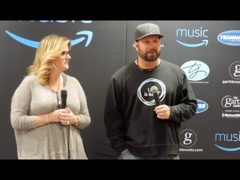 Garth Brooks Press Conference in Lubbock, Texas
