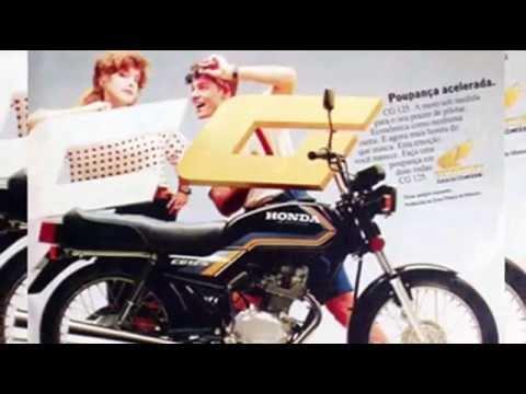HISTÓRIA Honda CG 1976-2012