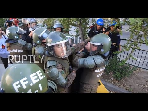 Chile: Mass protester arrests overshadow Pope Francis' first ever visit to Chile