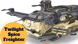 Anakin's TWILIGHT - G9 Rigger freighter Breakdown - Star Wars Clone Wars Ships Explained