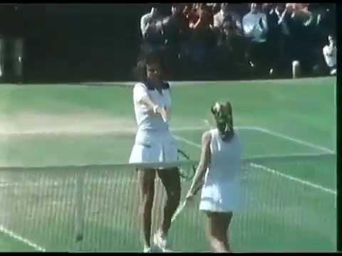 Pam Shriver d Tracy Austin 1981 Wimbledon QF