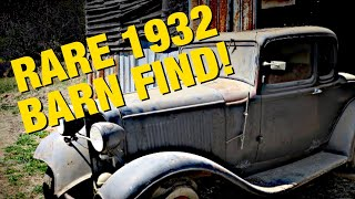 Ultimate Hot Rod - Rare 1932 Ford BARN FIND! Parked - Episode 2