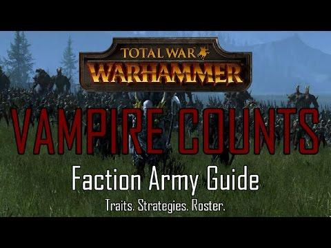 VAMPIRE ARMY GUIDE! - Total War: Warhammer