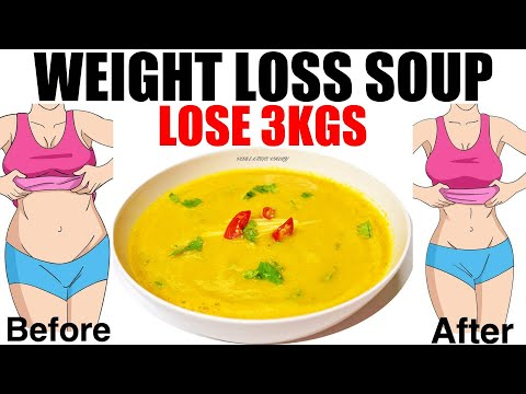 Weight Loss Soup Recipe | Lentil Soup For Weight Loss | Weight Loss Soup