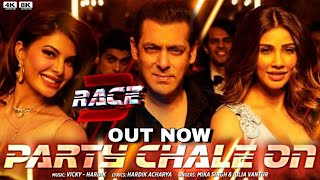 Party Chale on & on Song Audio & Teaser Out Today | Mika singh | Salman Khan | Race 3 Songs