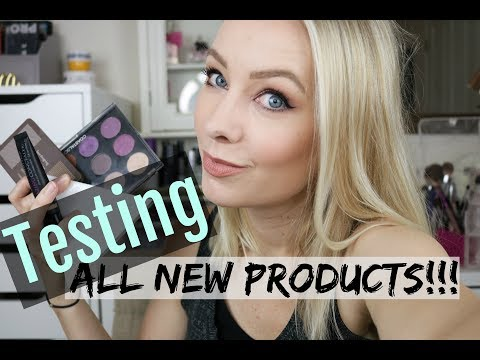 Get Ready With Me   First Impressions   Using All New Products