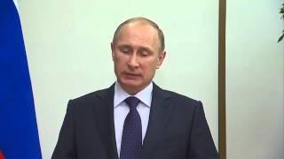 Владимир Путин по завершении встречи с Президентом Французской Республики Франсуа Олландом.(, 2014-12-06T20:27:31.000Z)