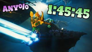 [World Record] Ratchet & Clank: Rift Apart Speedrun Any% in 1:45:45