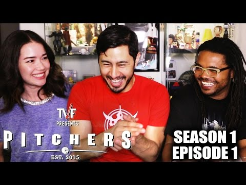 TVF PITCHERS EPISODE 1 Reaction by Jaby, Achara & Chuck!