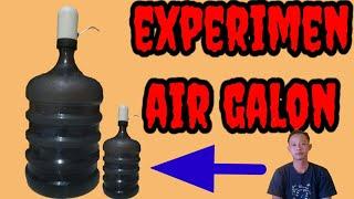 EXPERIMEN...AIR GALON||trik dan solusi untuk kekurangan minyak rem pada kendaran||minyak rem kering.