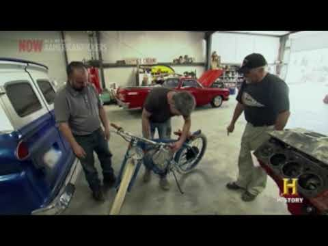 Vintage Electric Bikes - American Pickers Tracker Ride