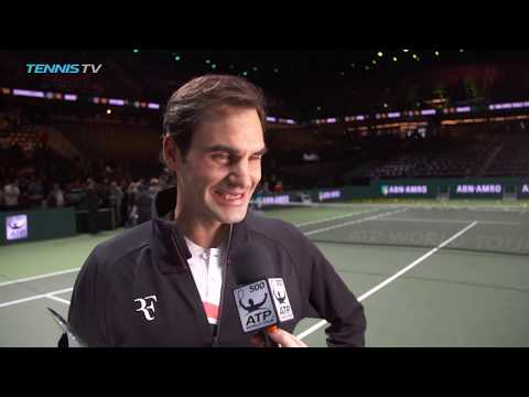 "Roger Federer reflects on ""unbelievable week"" 