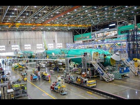 挑戰新聞軍事精華版--波音「綠飛機」擬設廠中國舟山;全新波音737組裝過程解密
