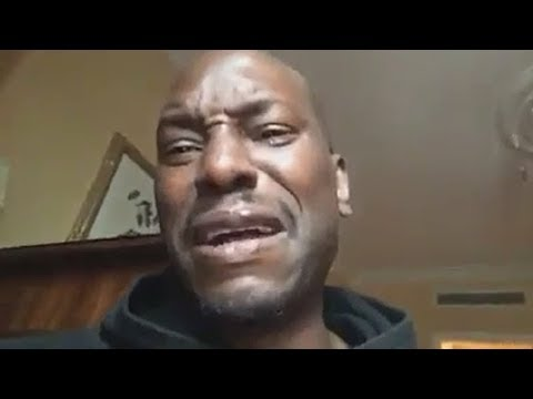 Tyrese Breakdown Crying Over Pending Court Decision To Take His Daughter Away From Him