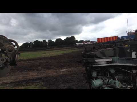 Big Ass Tank Ripping Up The Ground