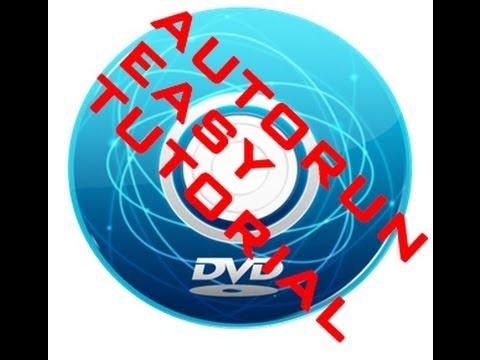 [Tut]How to make Autorun DVD/CD Easy  HD