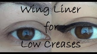 Wing Liner for Low/Overhanging/Hooded Creases