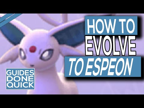 How To Evolve Eevee Into Espeon In Pokemon Sword & Shield
