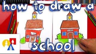 Cómo Dibujar Una Caricatura De La Escuela