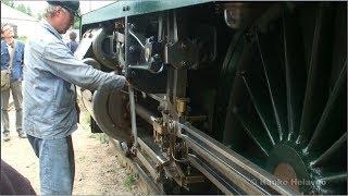 steam locomotive hv1 555 princess finnish railway museum hyvink finland